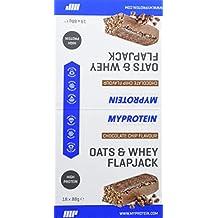 MyProtein Oats & Whey Barritas Proteínicas, Sabor Chip de Chocolate ...
