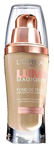 L'Oréal Paris Lumi Magique, Fondotinta, W3 Gold Linen, 30 ml