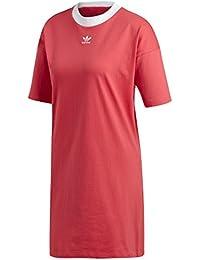 adidas Trefoil Dress Camiseta, Mujer, Rosa básico, ...