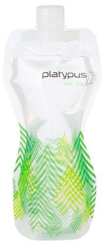 Platypus SoftBottle - leichte, flexible und BPA freie Trinkflasche mit *Schraubverschluß* Trees
