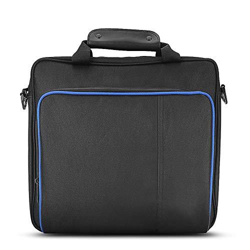 Vbestlife Travel Storage Bolso Portátil,Bolso de Hombro Impermeable Totalmente Protector para PlayStatio n 4 PS4