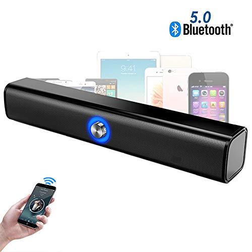 Speaker-EJOYDUTY Tragbarer 10W Bluetooth 5.0 Lautsprecher, DSP Digital Sound, 2000mAh Akku, Support U Disk, TF Karte, AUX Port, für PC, Telefon, Tablet und mehr