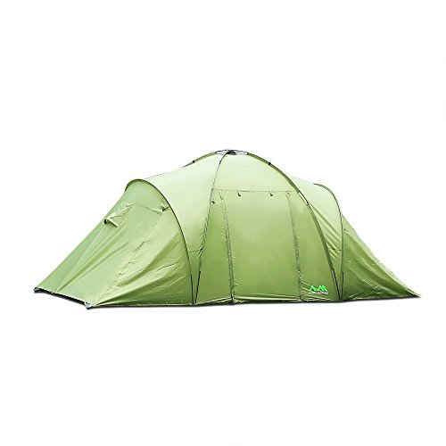 Arctic Monsoon Family Camping 2 Room Tent Starry T2, 3-4 Person Lightweight Waterproof Tent for Camping, Hiking, Backpacking, Picnic, Party Outdoor Indoor Use, Three Seasons