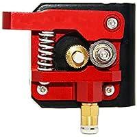 Redrex Upgraded Aluminium Bowden Extruder 40 Zähne MK8 Drive Ausrüstung für Creality CR-10 Serie und Anderen Heizplatte Prusa 3D Drucker [Linke Hand]