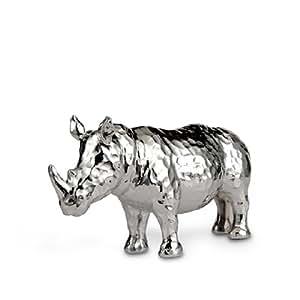 Silea 222/9527 Sculpture Rhinocéros Résine 9 x 26 x 14 cm