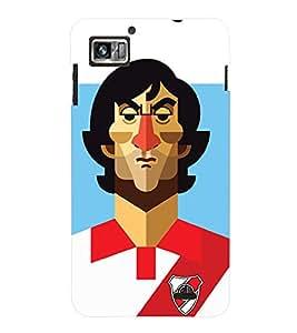 TOUCHNER (TN) Soccer Player 2 Back Case Cover for Lenovo K860