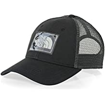The North Face Mudder Trucker Hat Gorra, Hombre, TNF Negro/Gris Asfalto, Talla Única