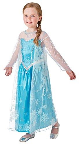 Rubie's 3630034 - Elsa Frozen Deluxe, Action Dress Ups und Zubehör, L