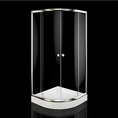 Viertelkreis-Duschkabine in der Größe 90×90 cm im Test - 2