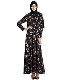 eecd34fab BaZhaHei Musulmán Caftan Kaftan Vestido Abaya Blusa Africana marroquí Ropa  Oriente Medio musulmán Vestido musulmán no