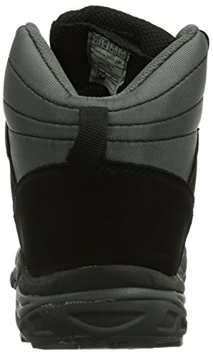 KangaROOS K-Outdoor 3005W, Stivali da neve Unisex - adulto Nero (Schwarz (black/dk grey 522))