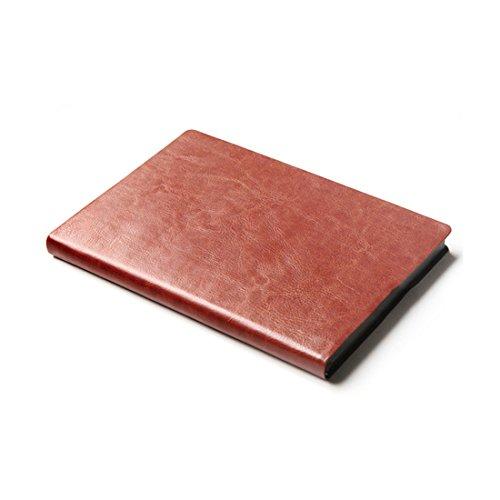 A6/A5/B5 Einfarbig Kunstleder Notizbuch Schreibzeug