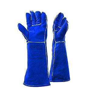 Peignes Gants pour animaux de compagnie gants anti-morsures gants anti-grippage gants de protection pour chiens dressés gants longs et épais en cuir gants pour animaux de compagnie gants spéciaux à ci