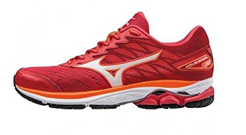 Mizuno Wave Rider 20Unidad Zapatos Mujer, Color Rojo, Talla 36.5