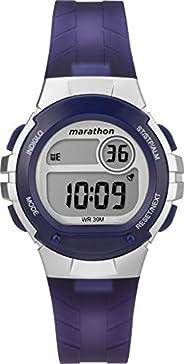 Timex Womens Quartz Watch, Digital Display and Resin Strap - TW5M32100