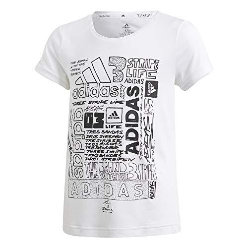 Ic-tee (adidas YG TR IC Tee Black/FTWWHT/None - 140)