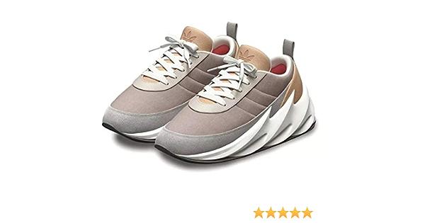 asignar malo Lucro  Buy YEEZY BOOST Shark Men's Brown Sneakers (43) at Amazon.in