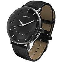 Docooler Lenovo Watch S Smart Watch 5ATM Waterproof Fitness Tracker Luminous Pointer Intelligent Pedometer Calorie Message Reminding Sleep Monitor Vibration Alarm