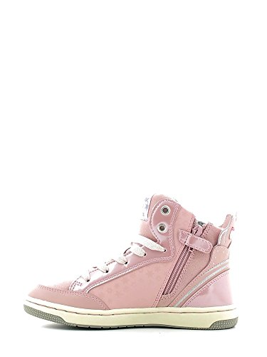 Geox Creamy C, Sneakers Hautes Fille Rose