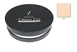 Faces Ultime Pro Second Skin Pressed Powder 9gm with Ayur Product in Combo (01-Ivory)