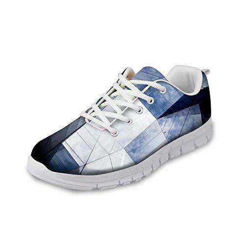 MODEGA abbagliante Scarpe Scarpe Colorate per Le Scarpe da Tennis degli Uomini di Modo di Disegno per Le Donne più Scarpe Sportive di Formato per Gli Uomini Scarpe da trekk Dimensioni 44 EU|9 UK