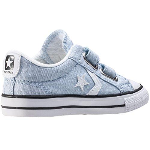 Calzature sportive bambino, colore Blu , marca CONVERSE, modello Calzature Sportive Bambino CONVERSE CHUCK TAYLOR STAR PLAYER 2V OX Blu Blue