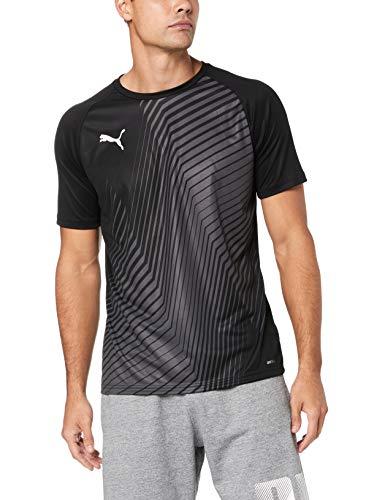 PUMA Herren ftblNXT Graphic Shirt Core T, Schwarz (Puma Black/red Blast), M -