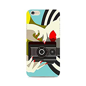 RAYITE Camera Chick Premium Printed Mobile Back Case For Apple iPhone 6 Plus/6s Plus