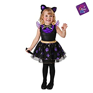 My Other Me Me Me - Halloween Gatita Disfraz, multicolor, 3-4 años (206100)