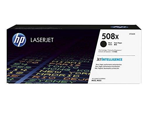 Preisvergleich Produktbild HP 508X (CF360X) Schwarz Original Toner mit hoher Reichweite für HP Color Laserjet Enterprise M552dn, M553, M577