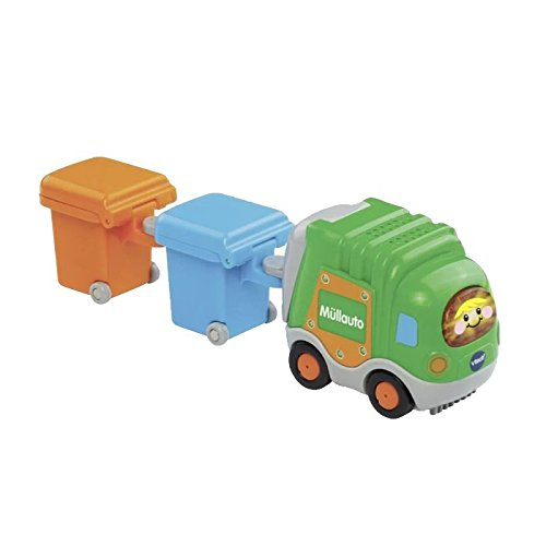 VTech Baby 187764 Tut Car Dump Truck and 2 Wheelie Bin - Green