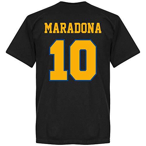 Boca Maradona 10 CABJ Crest T-Shirt - schwarz - XL