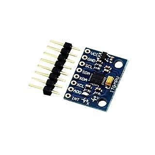AptoFun 2 pcs MPU-6050 Module 3-Axis Gyro Sensor Analog + 3-axis Acceleration for Arduino