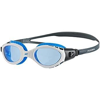 34e297356 Speedo Futura Biofuse Flexiseal Gafas de Natación, Unisex Adulto, Gris  óxido/Blanco/Azul, Talla Única