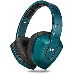Auriculares Bluetooth 4.1 Inalámbrico KINGTOP Auriculares Estéreo Cancelación de Ruido de Audio Plegable con Micrófono y Modo Cableado Compatible para Teléfonos Play Station 4 Tabletas PC y Portátiles