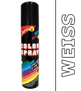 Laque blanche - spray pour cheveux - spray colorant - coloration des cheveux - bombe de couleur - couleur de carnaval - sprays pour cheveux - sprays colorants - colorations des cheveux