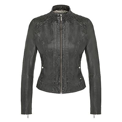Boss Orange Janabelle2 Womens Leather Jacket UK10 EU38 US6 Black by Boss Orange