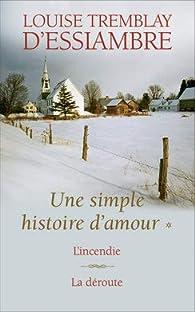 Une Simple Histoire D Amour Integrale 1 2 Babelio