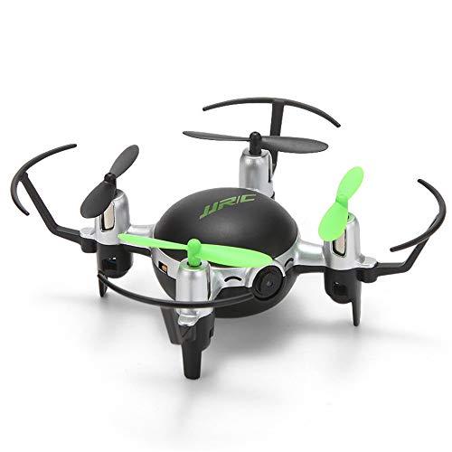 Mini drone rc con videocamera hd modalità senza testa volo in volo rtf elicottero telecomando giocattoli quadricottero,verde