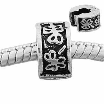 Andante-Stones Silber Bead Clip Stopper - Element Kugel für European Beads + ()