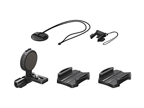 Sony VCT-HSM1 - Soporte lateral de casco para Action Cam, negro