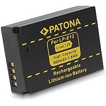 PATONA 1141 iones de litio 800mAh 7.2V batería recargable - Batería/Pila recargable (800 mAh, 5,8 Wh, Ión de litio, 7,2 V, Negro)