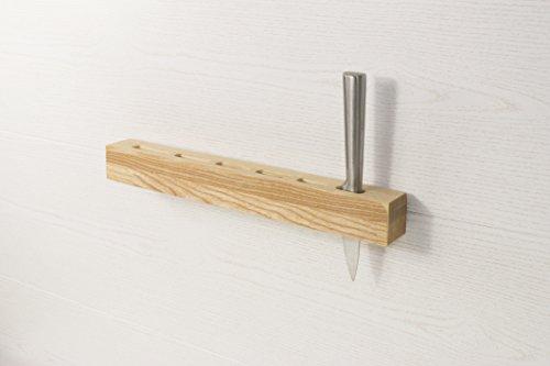 Messerhalter- Küche Geschenk rustikal - Messer Halter - Messer halten - Messer Lagerung - neues Haus Geschenk - Messer Geschenk einzigartig - Küche Geschenk aus Holz -