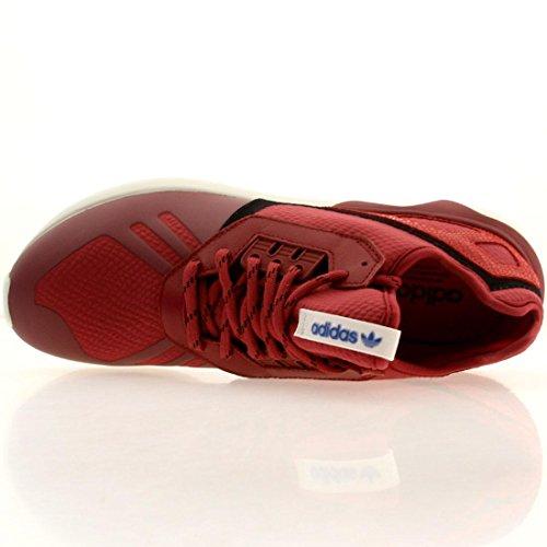 Hommes Adidas Tubular Runner noir / brun 11 Courir Athletic B35641 Stnore/Red