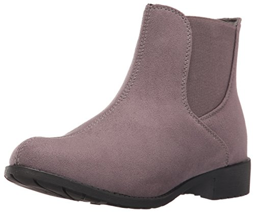 Propet Women's Scout Ankle Bootie, Grey Velour, 7.5 M US Scout-ankle Boot
