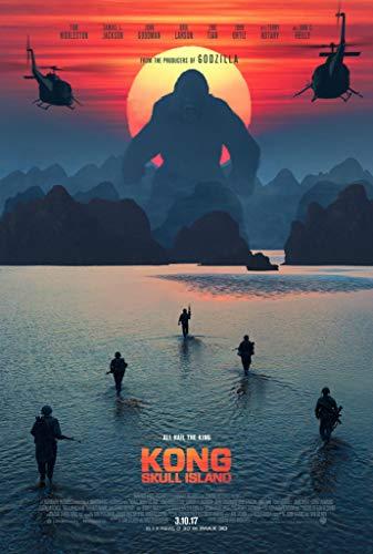 newhorizon Filmposter, Motiv Kong Skull Island, 43,2 x 63,5 cm, Keine DVD