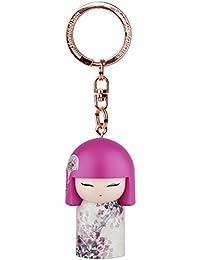 Porte clé Kokeshi Kimmidoll 5cm Makoto - sincérité