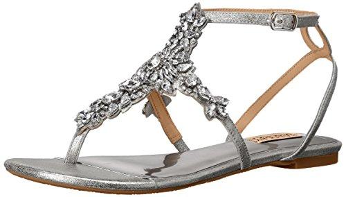 Badgley Mischka Cara II Synthetik Sandale Silver