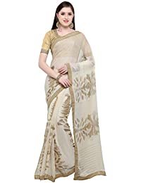 Womanista Cotton Saree with Blouse Piece