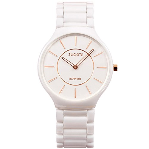 Kreative Keramikuhr/Mode Quarz-Uhr/ einfache wasserdichte Armbanduhr-A